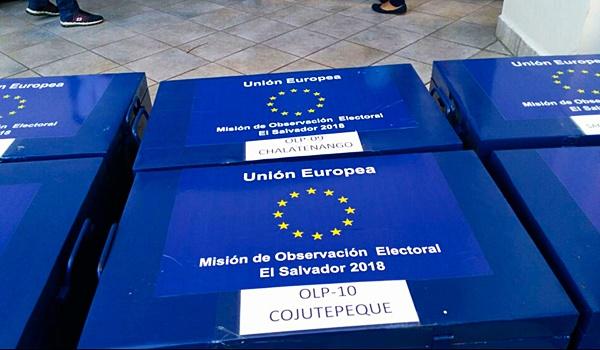 misión de observación electoral + ue + el salvador