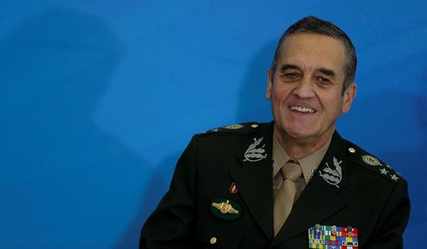 FILE PHOTO  Brazil s Army General Eduardo Villas Boas attends a