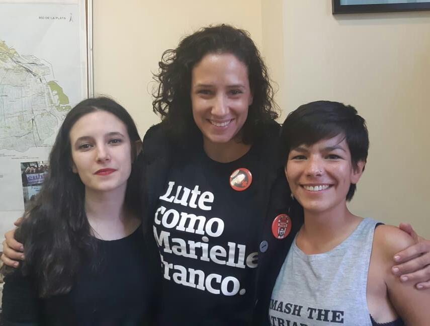 Lucía, Monica, Carla