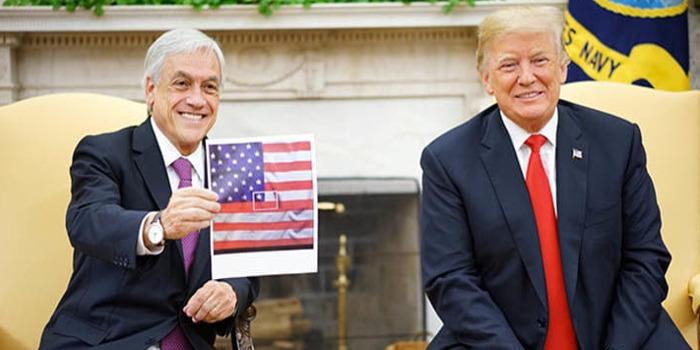 Piñera Trump Chile EEUU