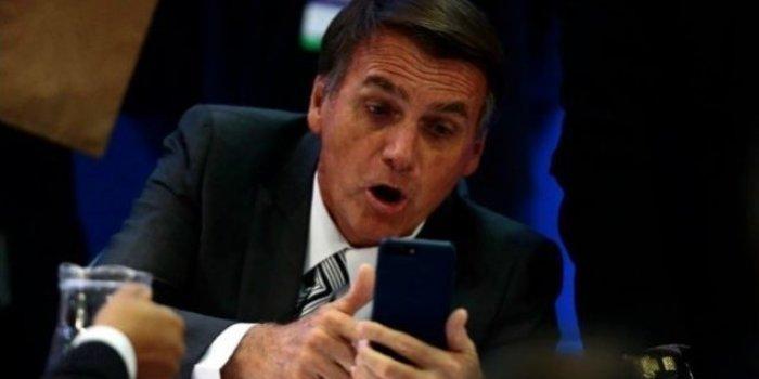 Bolsonaro celular