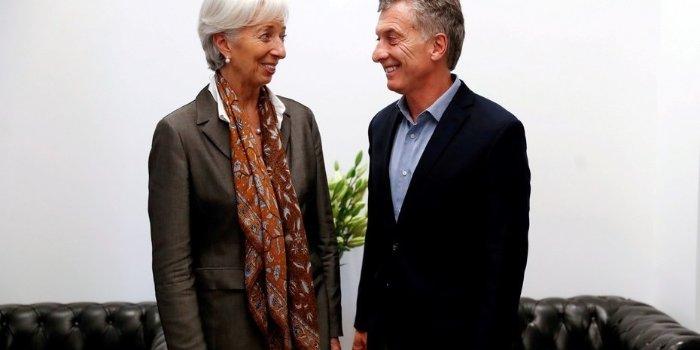 Macri Lagarde Argentina FMI