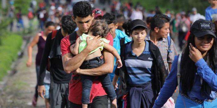 caravana migrante Honduras