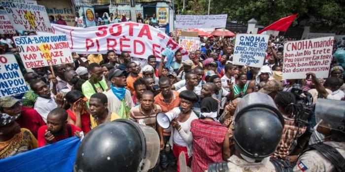 protesta haiti