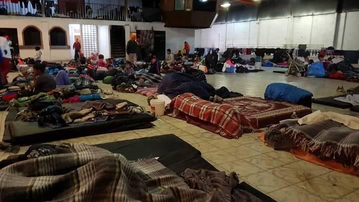 Albergue Barretal migrantes