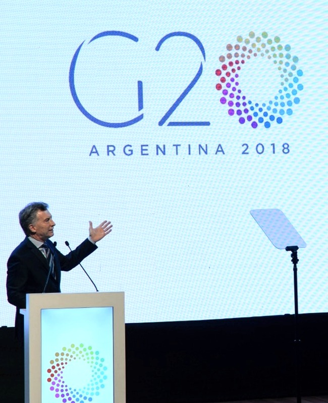 Macri Argentina G20