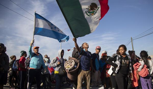 Tercer contingente de Caravana Migrante llega a Tijuana