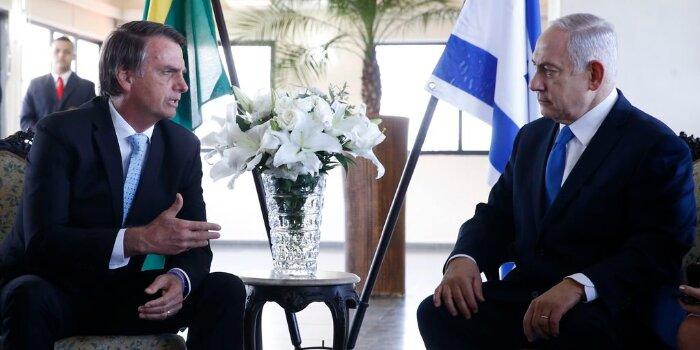 Bolsonaro Netanyahu Brasil Israel