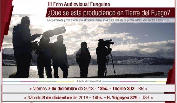 III Foro Audiovisual Fuegino UNTDF
