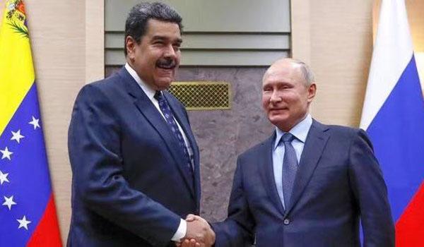 MaduroenRusiaconPutin