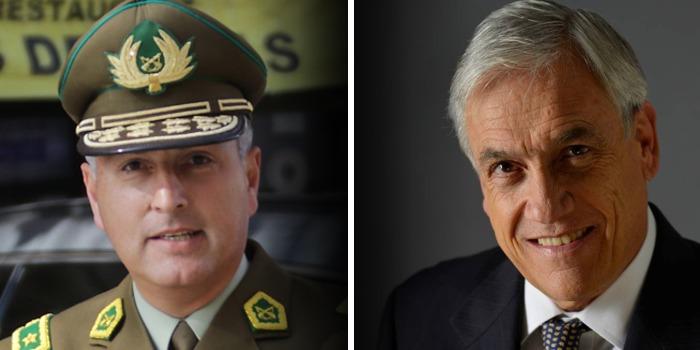 Mario Rozas Córdova Piñera carabineros chile