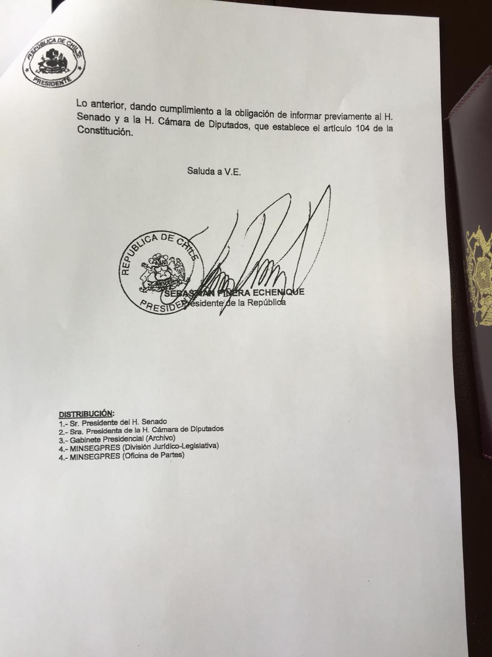 Piñera oficio hoja 3