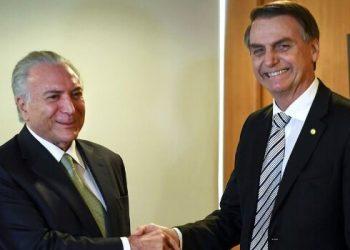 Temer Bolsonaro Brasil