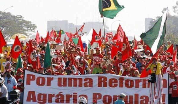 Brasil reforma agraria campesinos