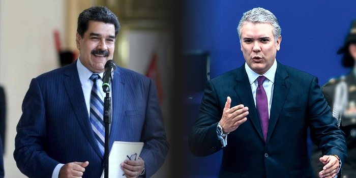 Nicolás Maduro Iván Duqe Colombia Venezuela
