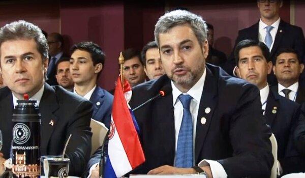 Paraguay Mario Abdo Benítez