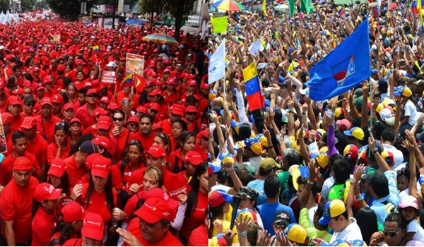 chavismo-oposición