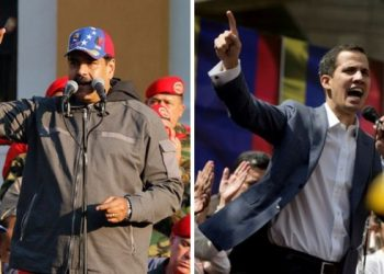 Nicolás Maduro Juan Guaidó Venezuela