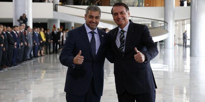 Abdo Benitez Jair Bolsonaro