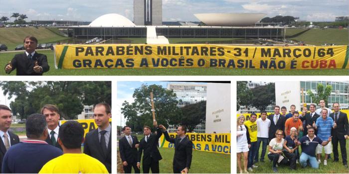 Bolsonaro golpe de Estado de 1964
