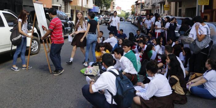 Paraguay Fenaes estudiantes protesta