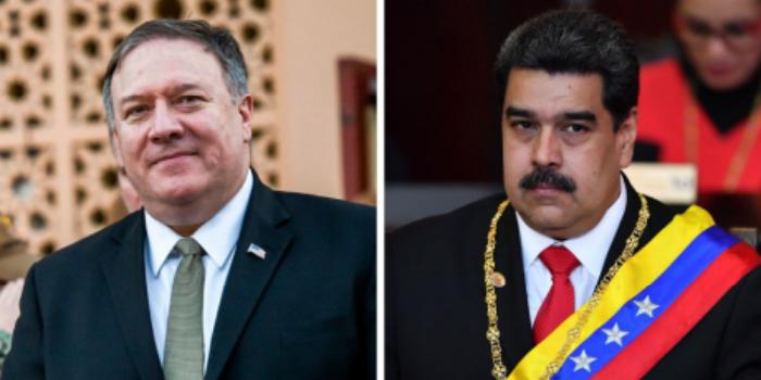 maduro-pompeo-venezuela-estados-unidos