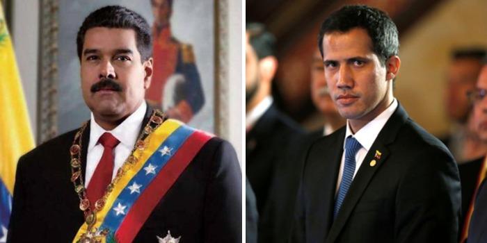 Maduro Guaidó Venezuela
