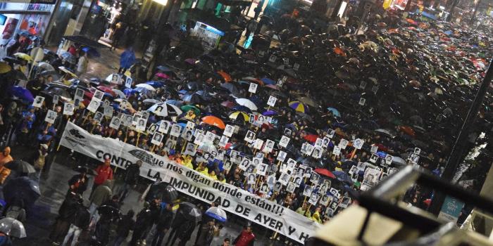 Marcha del silencio uruguay dictadura