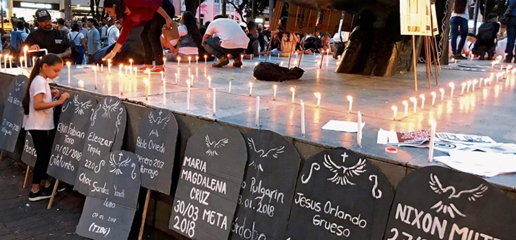 lideres asesinados – colombia