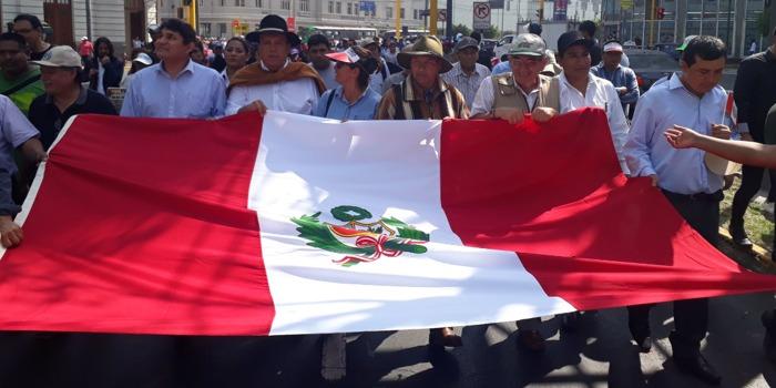 paro agrario nacional Perú