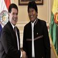 BOLIVIA-PARAGUAY-MORALES-CARTES